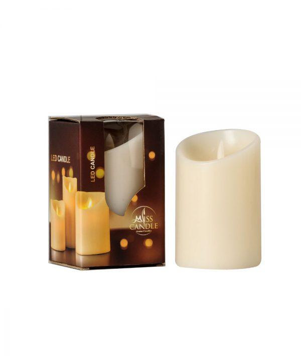 Nến Pillar D7.5H10 LED - Nến điện tử Quang Minh Candle