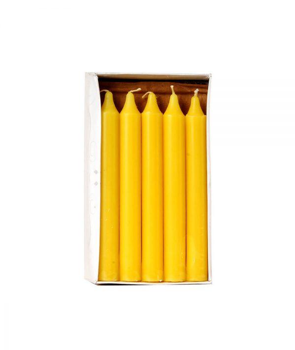 Hộp 15 cây nến thẳng 6 inch NQM 0017 - Nến Tapper Quang Minh Candle