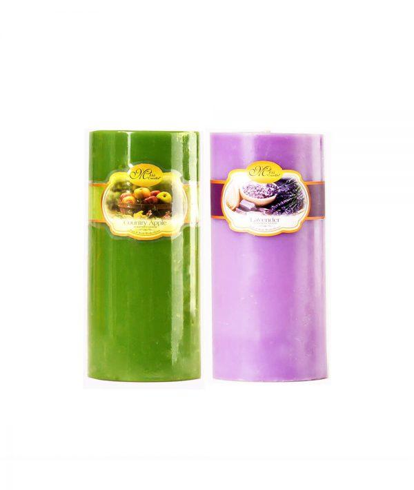 Nến trụ thơm 58 NQM 0819 - Nến trang trí Quang Minh Candle