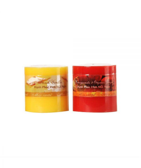 Nến trụ thơm 610 NQM 0833 - Nến thơm Quang Minh Candle